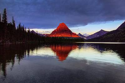 Glacier National Park Photograph - Dawn's Early Light by Bill Sherrell