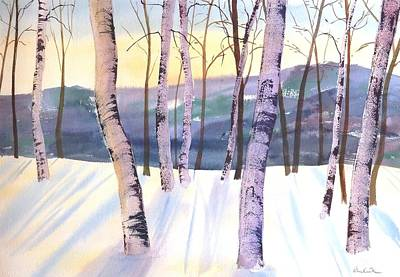 Painting - Dawns Early Light by Diane Kirk