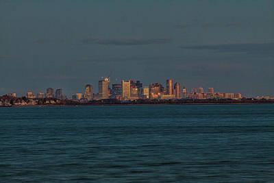 Photograph - Dawns Early Light Illuminates Boston Massachusetts by Brian MacLean