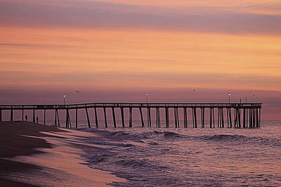 Photograph - Dawns Purple Waters by Robert Banach