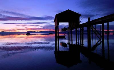 Photograph - Dawn.....western Shore Of Tahoe by Sean Sarsfield