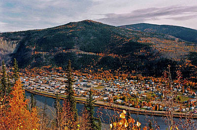 Colourfull Photograph - Dawson City - Yukon by Juergen Weiss