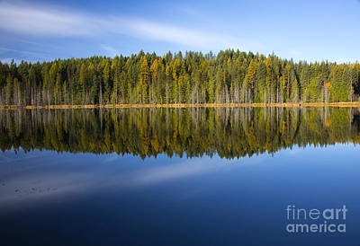 Photograph - Dawson Lake by Idaho Scenic Images Linda Lantzy