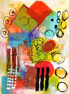 Day 4...30 In 30 Challenge Art Print by Suzzanna Frank