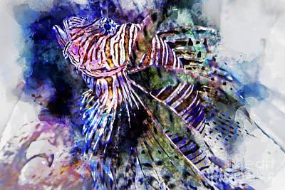 Digital Art - Day At The Aquarium by David Smith
