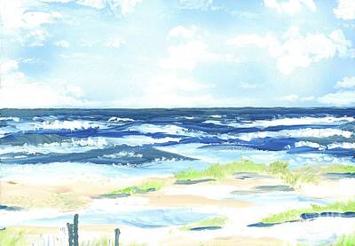 Painting - Day At The Beach by Patrick Grills