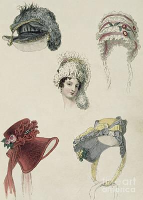 Day Bonnets Art Print