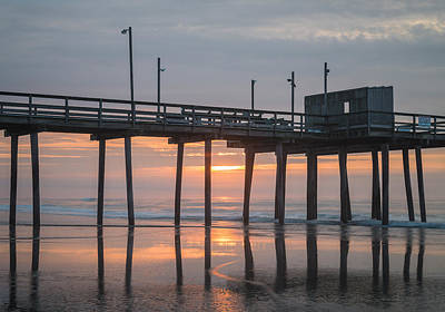 Beach Landscape Photograph - Day Break by Kristopher Schoenleber