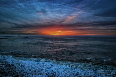 Photograph - Day Break San Pedro by Joseph Hollingsworth