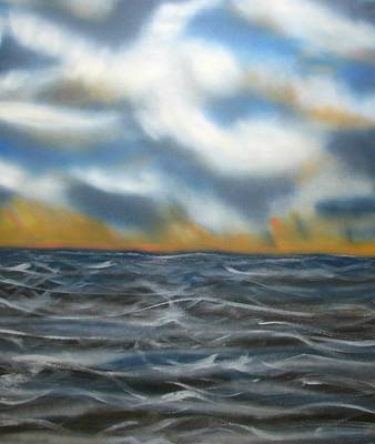 Painting - Day Break Sea by Joan Stratton