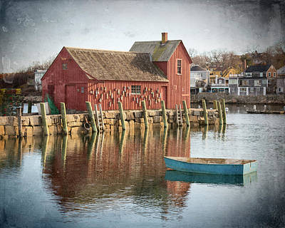 Photograph - Day Breaks In Rockport - #1 by Stephen Stookey