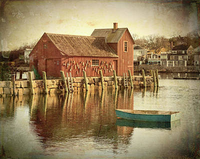 Rockport Photograph - Day Breaks In Rockport - #2 by Stephen Stookey