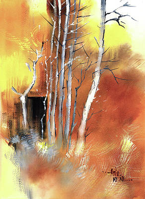Painting - Day Dream by Anil Nene