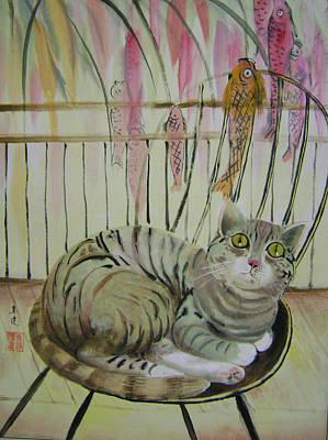 Day Dreaming Art Print by Lian Zhen