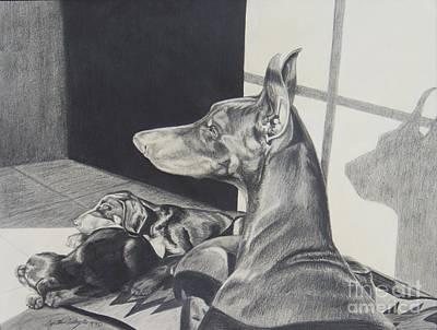 Daydreams Art Drawing - Day Dreams by Cynthia Riley