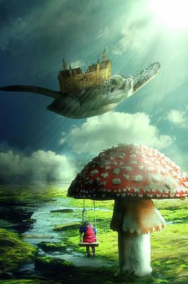 Digital Art - Day Dreams by Nathan Wright