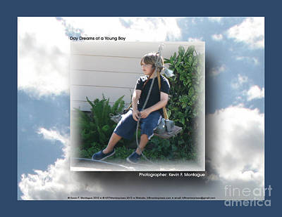 Photograph - Day Dreams Of A Young Boy by Kevin Montague