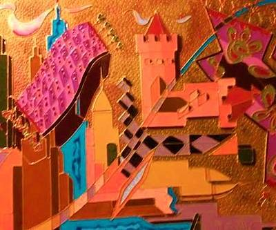 Painting - Day Dreams by Ray Khalife