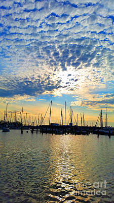 Photograph - Day Is Done At Harbor by Roberta Byram