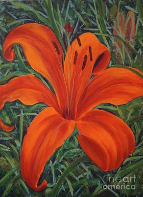 Painting - Day Lily by Gail Kent