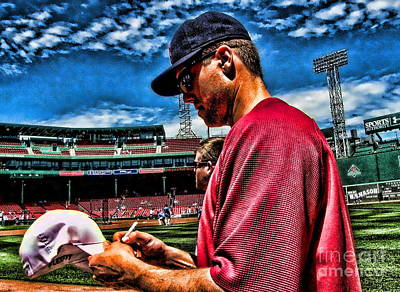 Jonathan Papelbon Photograph - Day Of All Days by Carol Christopher