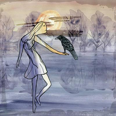 Digital Art - Day Of Mists by Christine MARTIN