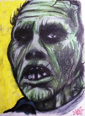 Day Of The Dead - Bub Art Print by Sam Hane