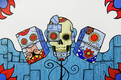 0 Painting - Day Of The Dead 2.0 by Chase Fleischman