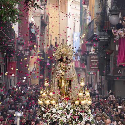 Day Of The Virgen De Los Desamparados Art Print