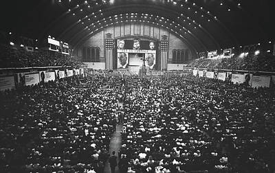 Photograph - Day One At The Democratic National Convention 1964 by Library Of Congress