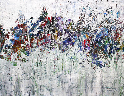 Pallet Knife Painting - Day Twelve by Kume Bryant