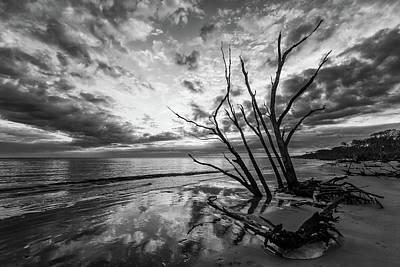 Photograph - Daybreak At Boneyard Beach by Stefan Mazzola