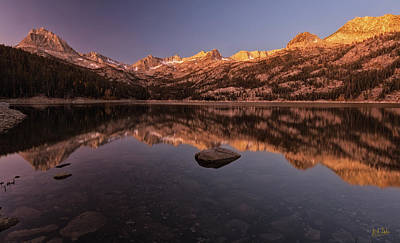 Photograph - Daybreak At South Lake by Stuart Gordon