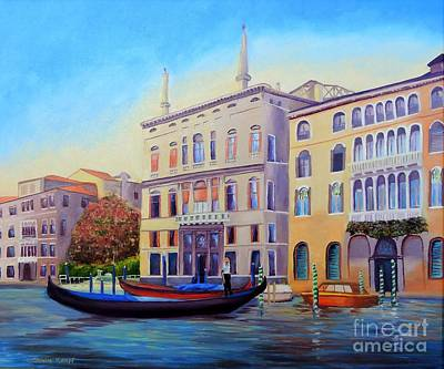 Painting - Daybreak At Venice by Shelia Kempf