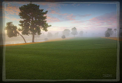 Golf Landscape Photograph - Daybreak At Willowcreek by David Wagner