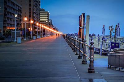 Photograph - Daybreak Boardwalk by Pete Federico