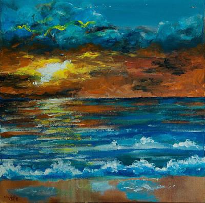 Painting - Daybreak by Elizabeth Mundaden