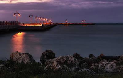 Photograph - Daybreak In Key West by Kim Hojnacki