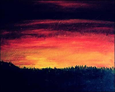 Daybreak Number Four Art Print by Scott Haley