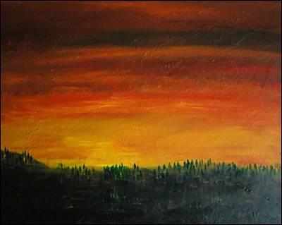 Daybreak Number Three Art Print by Scott Haley