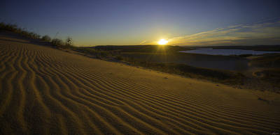 Photograph - Daybreak On The Dunes by Owen Weber