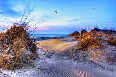Photograph - Daybreak On The Outer Banks 1 by Dan Carmichael