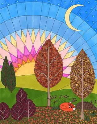 Drawing - Daybreak by Pamela Schiermeyer
