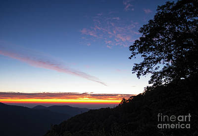 Photograph - Daybreak, Shenandoah National Park, Virginia  -84246 by John Bald