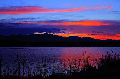 Photograph - Daybreak Sunset by Paul Marto