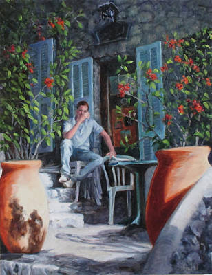 Painting - Daydream Before Work by Connie Schaertl