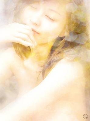 Woman Daydreaming Digital Art - Daydream by Gun Legler