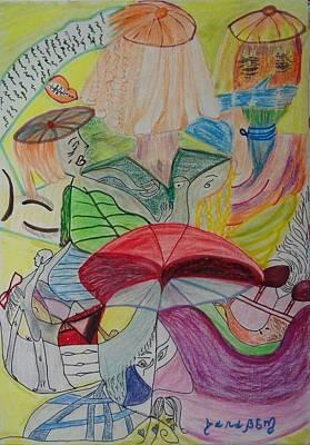 Mental Painting - Daydream II by Darabem Artist