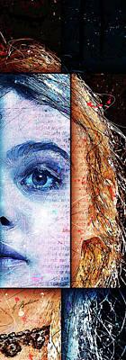 Young Digital Art - Daydream Panel 2 by Gary Bodnar
