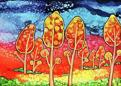 Painting - Daydream Park by Jennifer Allison